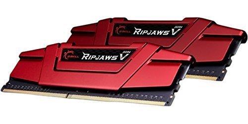 G.Skill 16 GB DDR4-3000 Kit, czerwony F4-3000C14D-16GVR, Ripjaws V