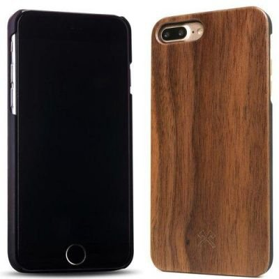 Woodcessories EcoCase Classic iPhone 7 Plus walnut + black