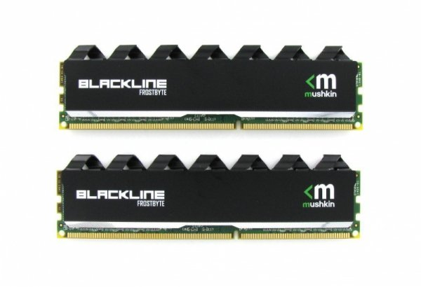 Mushkin DDR3 16GB 2400 Kit - 997123F - Blackline