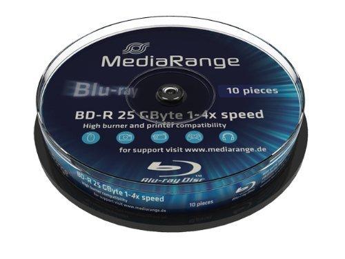 MediaRange BD-R 25GB 6x, 10 szt.