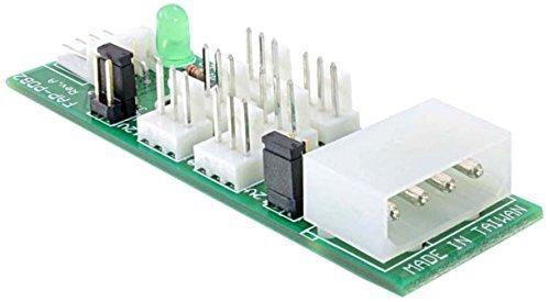 Delock Podłącznik do 6x wentylator 5V/12V