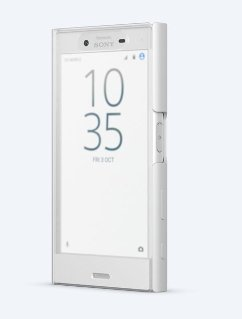 Sony Style Cover Touch White dla Xperia X Compact