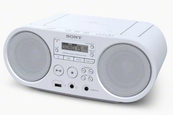 Sony ZS-PS50W biały