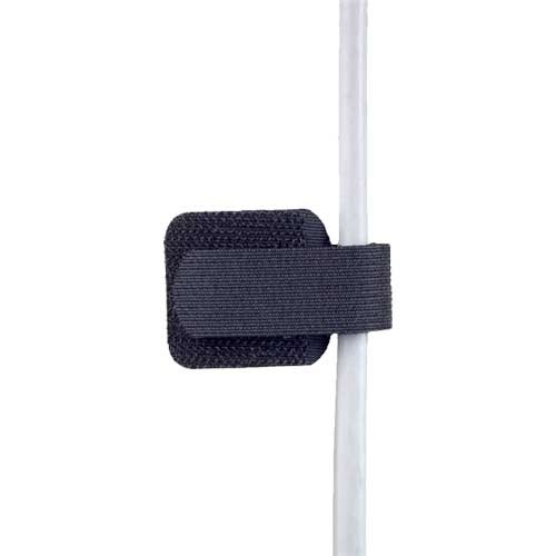 LABEL THE CABLE Ścienny uchwyt na kable - 10 szt czarny