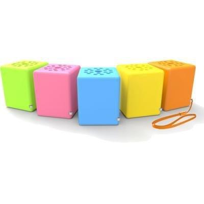 InLine® Bobby Mini głośnik Bluetooth z funkcją głośnomówiącą do telefonu (żółty)