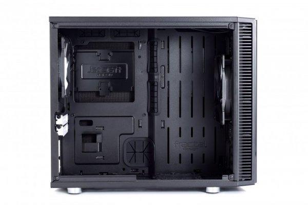 Fractal Design Define Nano S Window, Desktop czarny, Window-Kit