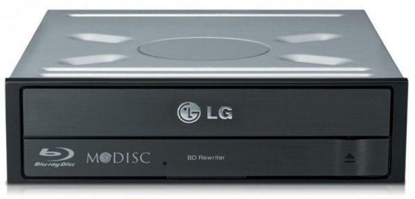 LG BH16NS55, Nagrywarka Blu ray czarny, 5x DVD-RAM, M-DISC, Bulk