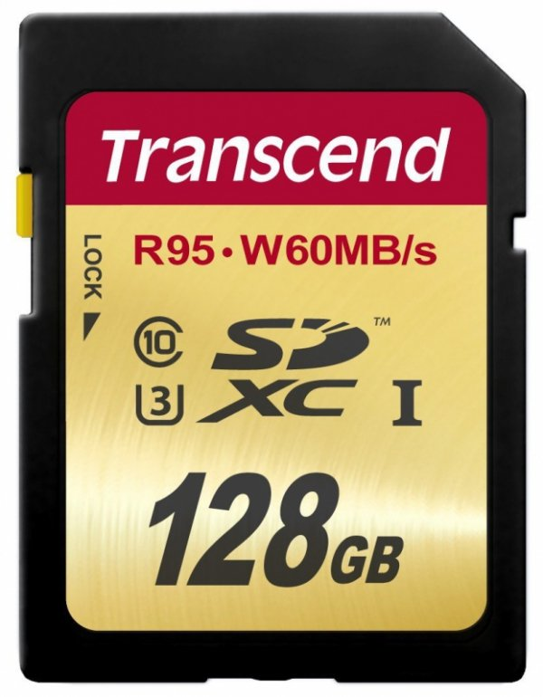 Transcend SDXC 128GB Class10 UHS-I U3 Ultimate