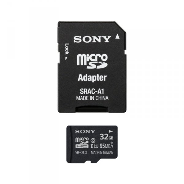Sony microSDHC Card 32GB High Speed Class 10 incl Adapter