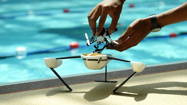 Parrot Hydrofoil Drone Minidrone New Z