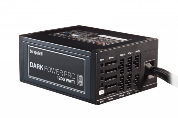 be quiet! Dark Power Pro P11 1200W, czarny, 9x PCIe, Kabel-Management