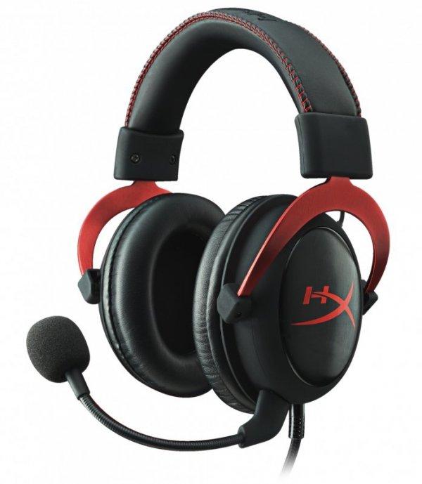 Kingston HyperX Cloud II Black Red - USB