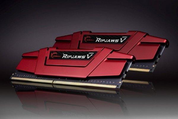 G.Skill 8GB DDR4-2133 Kit, F4-2133C15D-8GVR, Ripjaws V