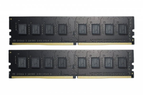 G.Skill 8GB DDR4-2400 Kit, F4-2400C15D-8GNT, Value