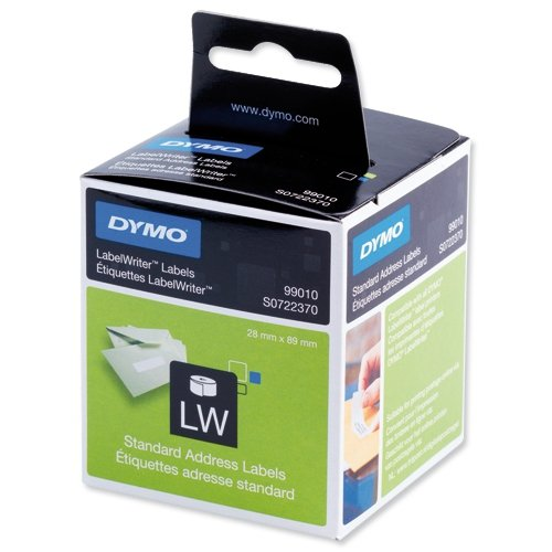 Dymo Address Labels        99010 89mm x 28mm / 2 x 130 labels