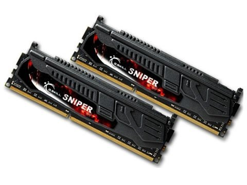 G.Skill 8 GB DDR3-1333 Kit, F3-10666CL9D-8GBSR, Sniper-Serie, Retail
