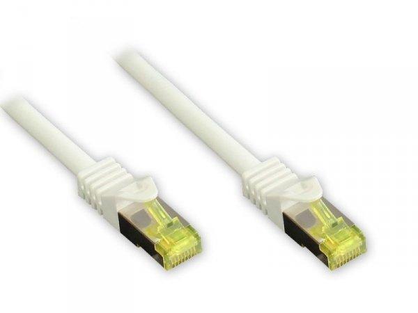 Kabel sieciowy Cat7 SFTP biały 7,5m