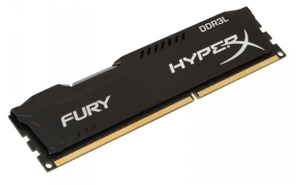 Kingston HyperX 8GB DDR3L-1600, HX316LC10FB/8, Fury Black