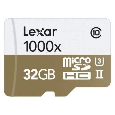 Lexar microSDHC 1000x       32GB UHS-II mit USB 3.0 Reader
