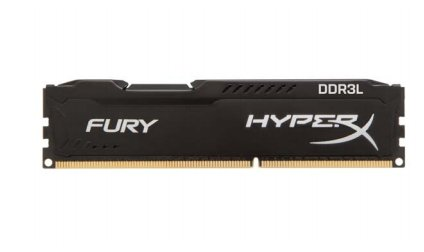 Kingston HyperX 4GB DDR3L-1866, HX318LC11FB/4, Fury Black