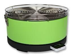 Feuerdesign Mayon stołowy grill węglowy zielony