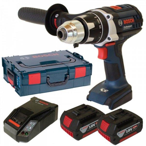 Bosch Wkretarka akumulatorowa  GSR 18 VE-2-LI blue