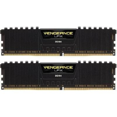 Corsair  16GB DDR4-2133 Kit, czarny, CMK16GX4M2A2133C13, Vengeance LPX