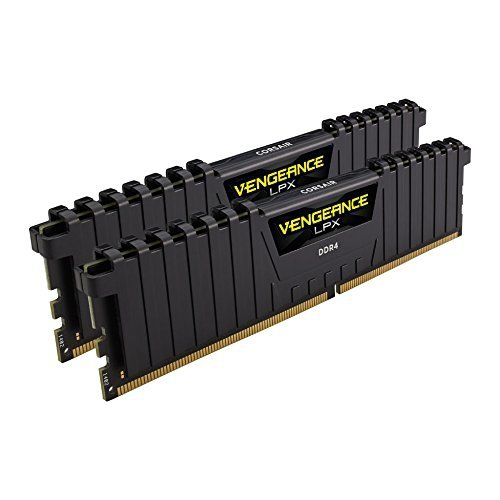 Corsair  8 GB DDR4-2400 Kit, czarny, CMK8GX4M2A2400C16, Vengeance