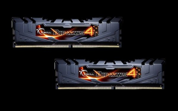 G.Skill 16GB DDR4-3000 Kit, czarny, F4-3000C15D-16GRK, Ripjaws 4