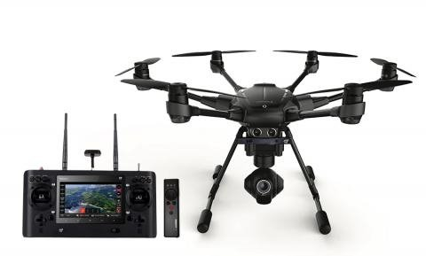 Yuneec Typhoon H PRO RS with Intel Real Sense