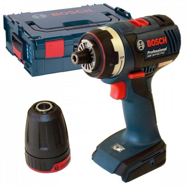 Bosch GSR 18 V-EC FC2, bez aku. i ładowarki, L-BOXX