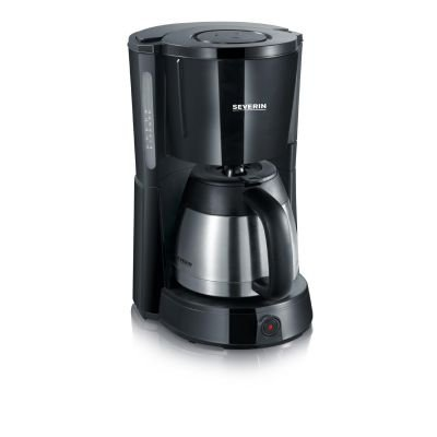 Severin KA 4131 - ekspres do kawy - czarno srebrny