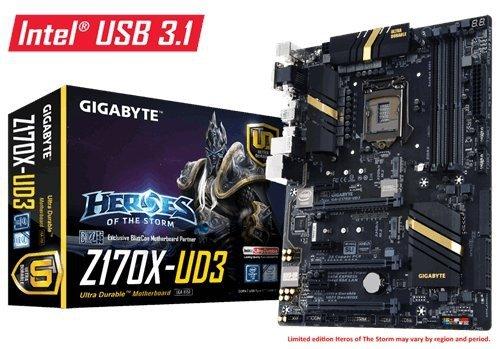 GIGABYTE GA-Z170X-UD3 Sound G-LAN SATA3 M.2 USB 3.1