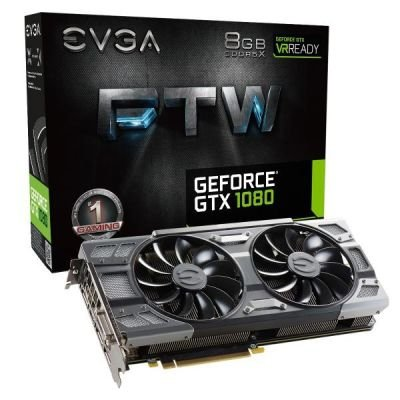 EVGA GeForce GTX 1080 FTW Gaming ACX 3.0, 8GB GDDR5X, DVI, HDMI, 3x DisplayPort