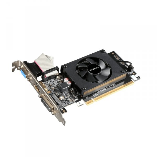 GIGABYTE GeForce GT 710, HDMI, DVI-D, VGA