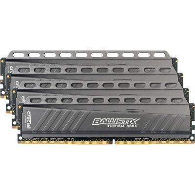 Ballistix Tactical 16GB Kit DDR4 4GBx4  3000 MT/s DIMM 288pin