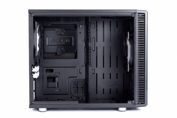 Fractal Design Define Nano S Window, Desktop czarny, Window-Kit