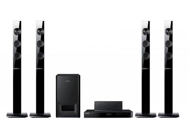 Samsung HT-J5150 (czarny) - 5.1 Kino Domowe (DTS-HD, Dolby Digital, Anynet+, 3D Blu-ray Player)
