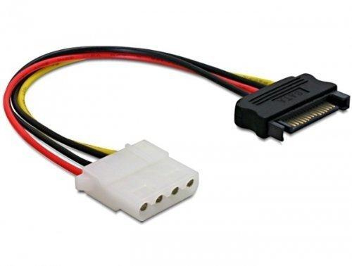 Delock Strom 15pin SATA ->4pin Molex