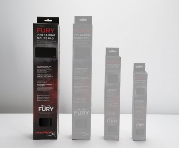 Kingston HyperX Fury Pro Gaming Podkładka  XL - czarna
