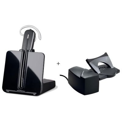 Plantronics Bundle CS540A + HL10 Lifter czarny, Retail