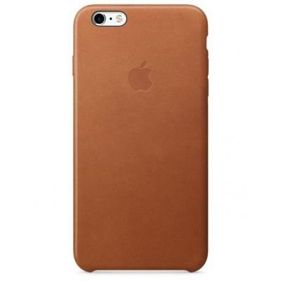 Apple iPhone 6s Plus Leather Cas Saddle Brown