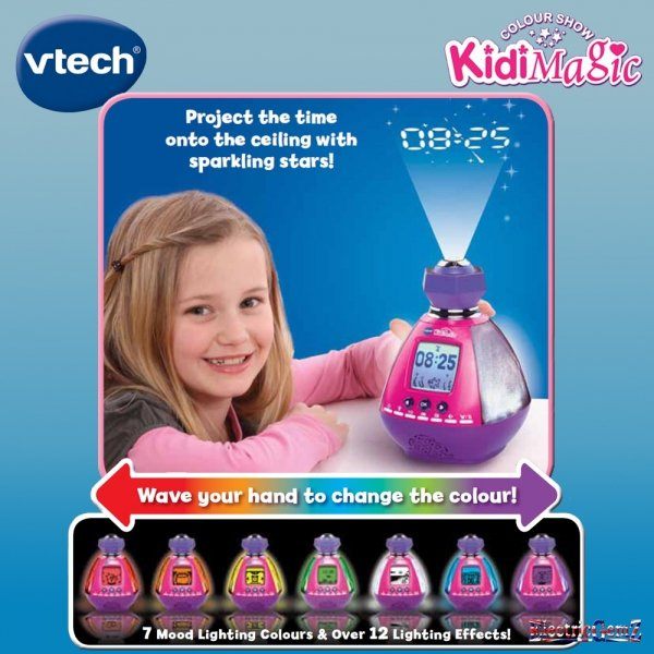 Radiobudzik Vtech KidiMagic Colour Show
