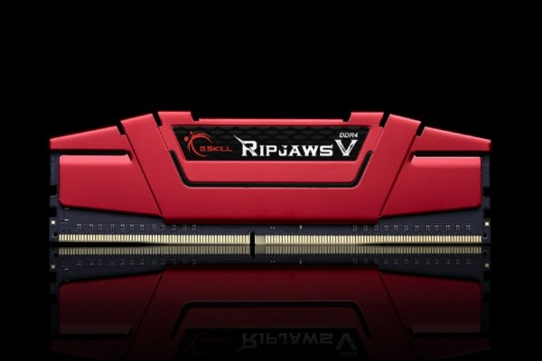 G.Skill 8GB DDR4-2400 Kit, czerwony F4-2400C15D-8GVR, Ripjaws V