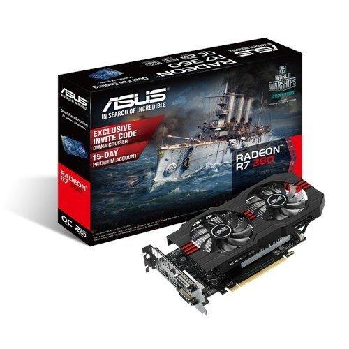ASUS R7360-OC-2GD5-V2, HDMI, DisplayPort, DVI-I, DVI-D