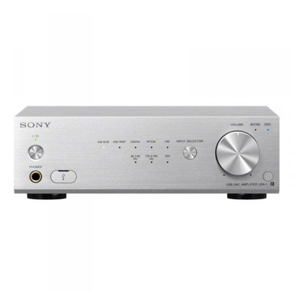 Sony UDA-1 Stereo-Wzmacniacz srebrny