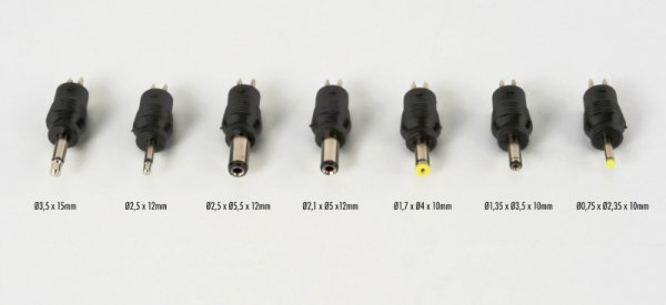 Ansmann APS 2250L - uniwersalny zasilacz - 5V, 6V, 7.5V, 9V, 12V, 13.5V, 15V