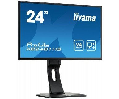 IIYAMA 23,6'' XB2481HS-B1   16:9  DVI+HDMI bl. Spk.