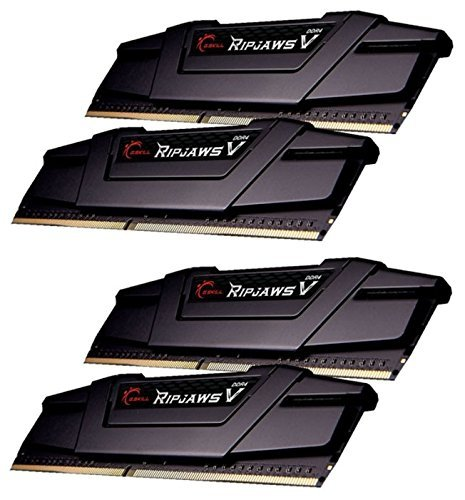 G.Skill 64 GB DDR4-3400 Quad-Kit, czarny, F4-3400C16Q-64GVK, Ripjaws V