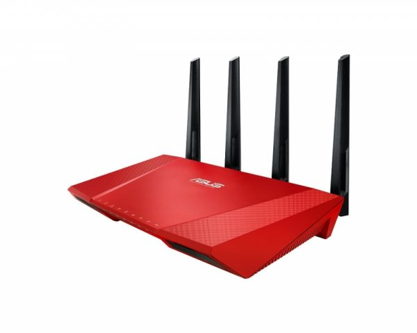 ASUS RT-AC87U RED AC2400 Gigabit WLAN Router